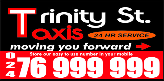 Trinity St. Taxis - Student Discounts Available!