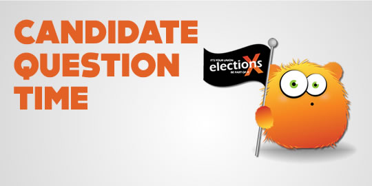 Officer Elections 2013 - Candidate Question Time