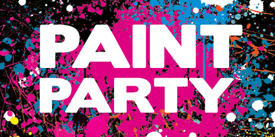 END OF TERM UV PAINT PARTY