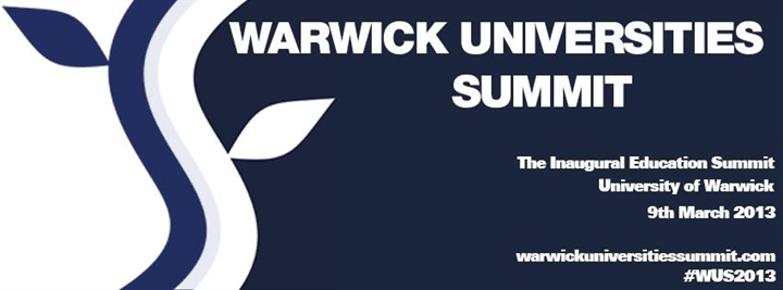 Warwick Universities Summit 2013