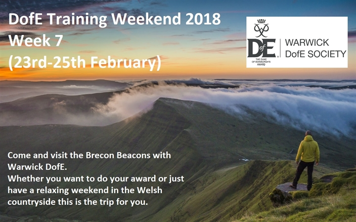 DofE Training Weekend 2018