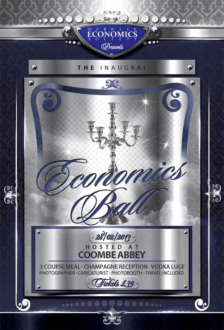 Inaugural Economics Society Ball ***SOLD OUT***