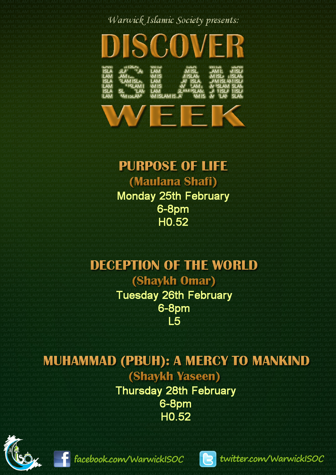 Deception of the World- Discover Islam Week