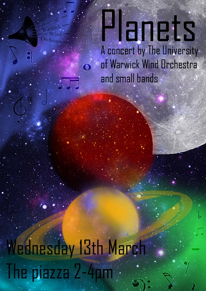 Planets- University of Warwick Wind Orchestra