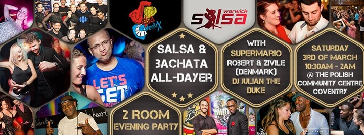 Coventry's Salsa & Bachata All-Dayer