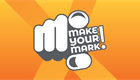 Make your mark logo of finger pointing and title results available