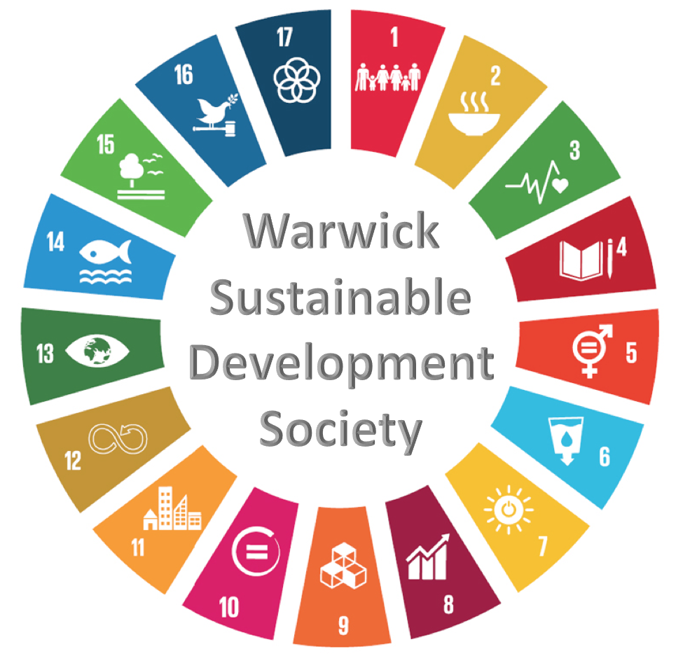 Warwick Sustainable Development page button