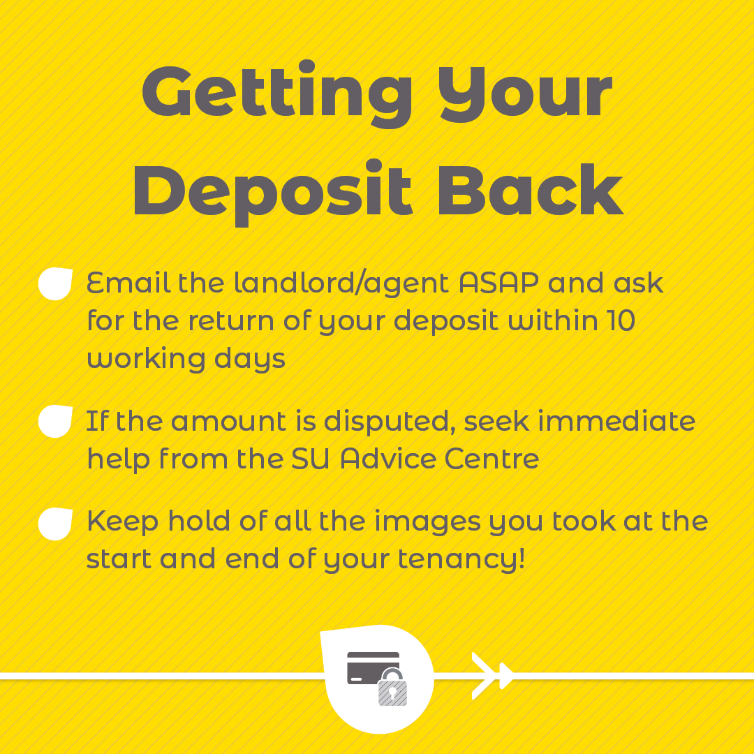 Get Your Deposit Back checklist