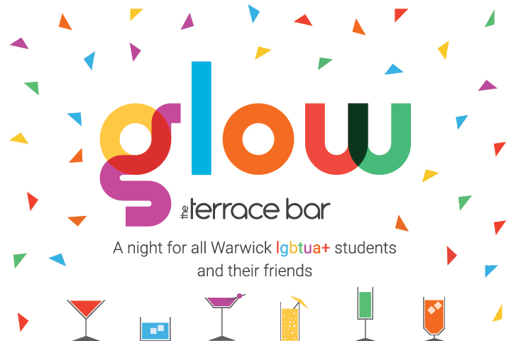 Glow event flyer