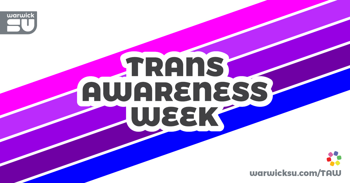 Trans awareness week banner