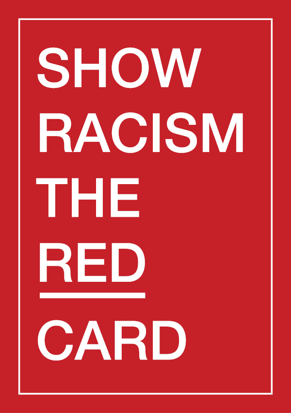 Show Racism the Red Card card