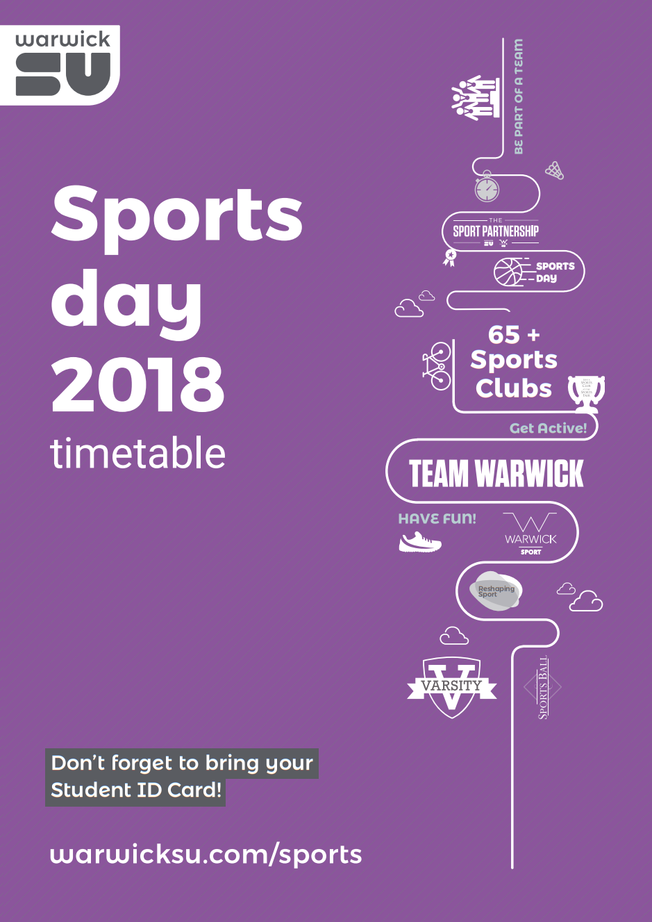 Sports Day flyer