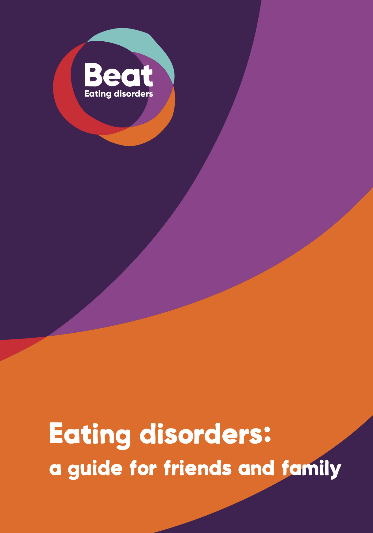 Beat eating disorders guide cover